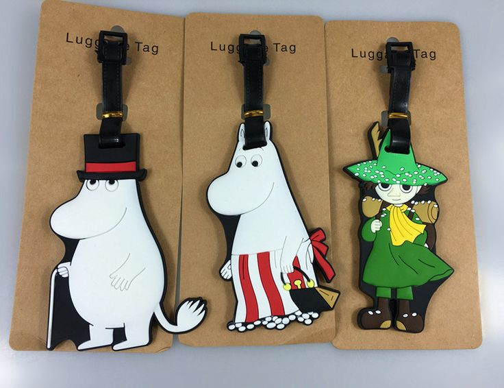 13Models Little My Moomin PVC Valley Figures Accessory Travel by tove Luggage Tag  #Affiliate