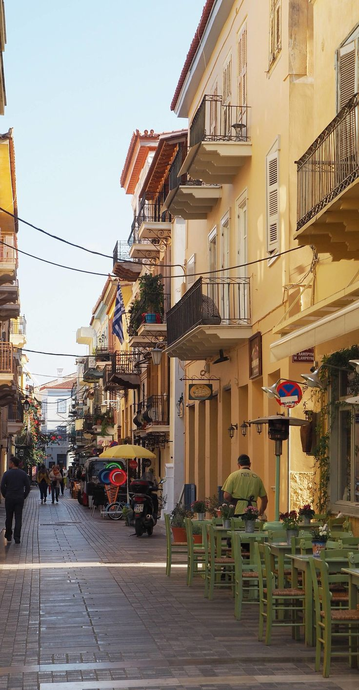 Greece Travel Inspiration- Nafplio: The Most Enchanting Town in the Peloponnese. I absolutely fell in love with the beach and old town of Nafplio on our day trip; it's definitely a place to visit when on a vacation in Greece. Check out my blog for things to do in beautiful Nafplio including where to buy handmade leather sandals!