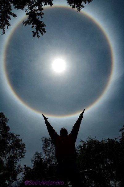 Солнечное гало из Мексики / Astro Analytics