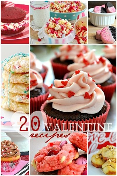 20 Valentine Recipes over at the36thavenue.com Yummy and sweet! #recipes #valentines #desserts