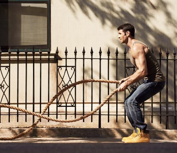 Outdoor Training-Full Body Workouts - 10 Best Outdoor Workouts to Burn Fat and Build Muscle - Men's Fitness