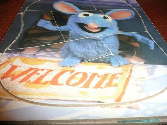 Bear In The Big Blue House Tutter Trello Mattel Wooden Puzzles