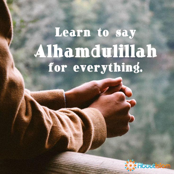 Alhamdulillah. #Grateful #Allah #Alhamdulillah