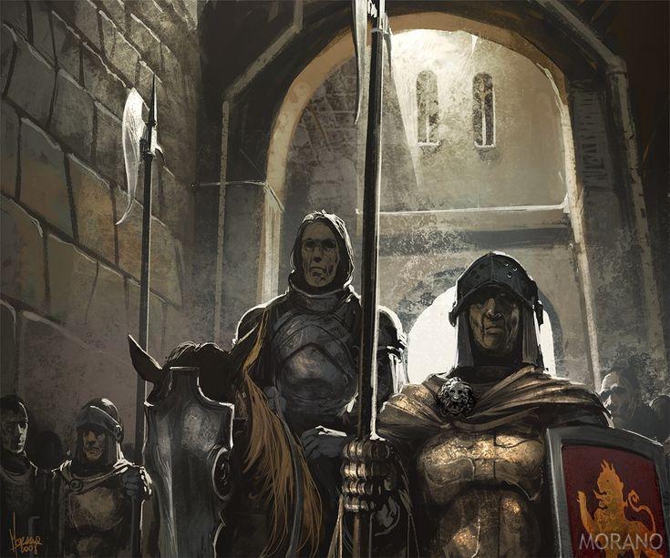 тед несмит иллюстрации игра престолов