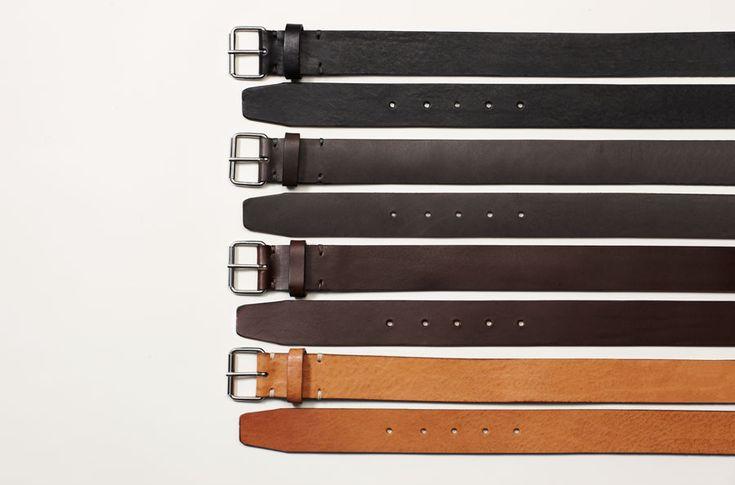 Feit Handmade Vegetable Leather Belt $132.18