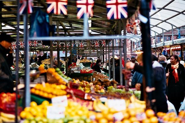 Market in good old brum