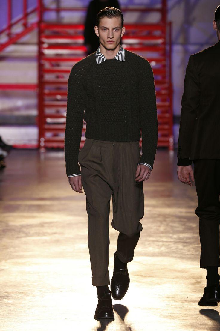 CERRUTI 1881 PARIS FW 14-15 Men's Fashion Show - Look 2