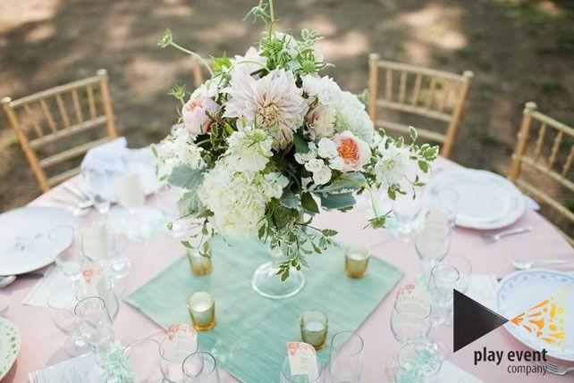 Свадебные тренды 2015 - пастельные цвета, флористика