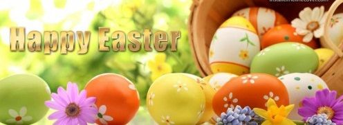 Happy Easter Facebook Cover Photos 2017