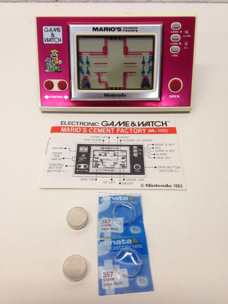 91 Best Game Amp Watch Lcd Games Images On Pinterest