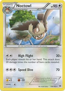 Pokemon - Noctowl (120/162) - XY BREAKthrough