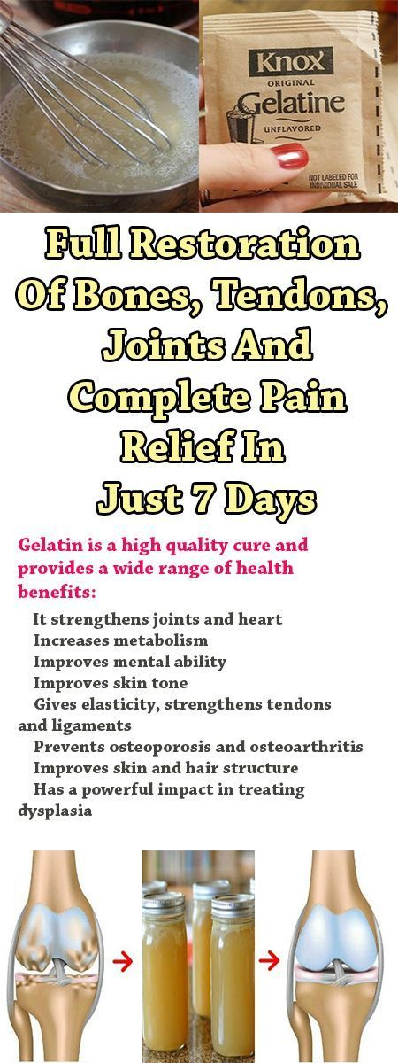 Full Restoration Of Bones, Tendons, Joints And Complete Pain Relief In Just 7 Days Health experts stress that improper posture has a major impact on the appearance of pain in the back, legs and joints. This article will offer you a recipe that will help to ease pain and strengthen bones. If you suffer from …