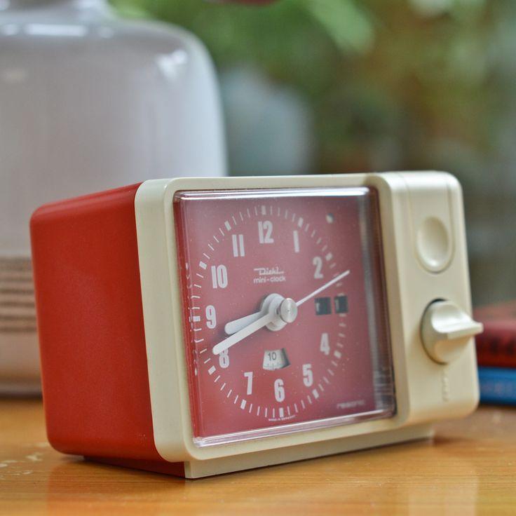 1970's Diehl 'Resonic' Mini Alarm Clock