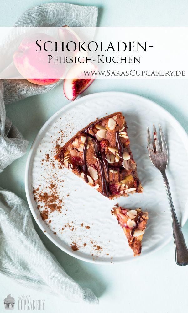 Schokoladen Pfirsich Kuchen Rezept Kuchen Mit Pfirsich Rezepte Und Lebensmittel Essen