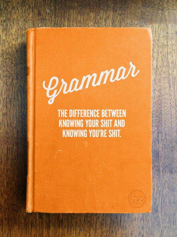 #Grammar - spread the word!