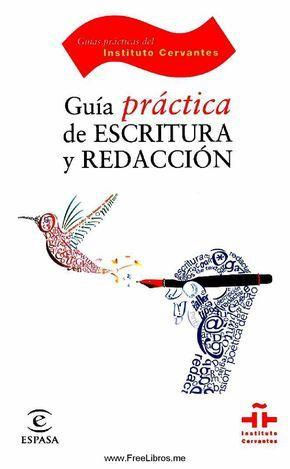 Guía práctica de escritura y redacción. Descargable.
