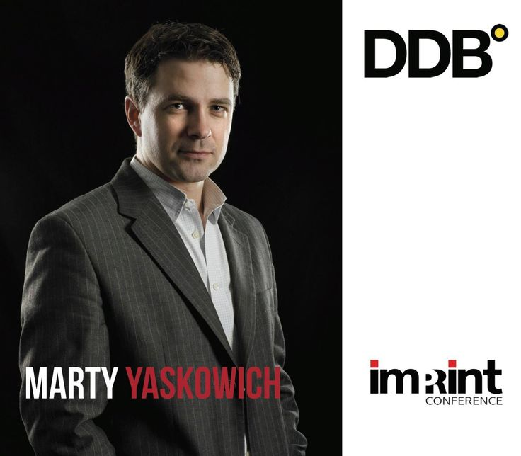 Our opening keynote is Marty Yaskowich, VP Strategy & Innovation for DDB Vancouver! Marty leads DDB's integrated planning and strategy team in the creation of award-winning integrated marketing programs. A digital marketing specialist, Marty plays a key role brand planning and omnichannel campaign development for clients that include Nordstrom, McDonald's, the Canadian Tourism Commission and Capital One. Marty is a certified internet marketing professional and graduated from UBC.