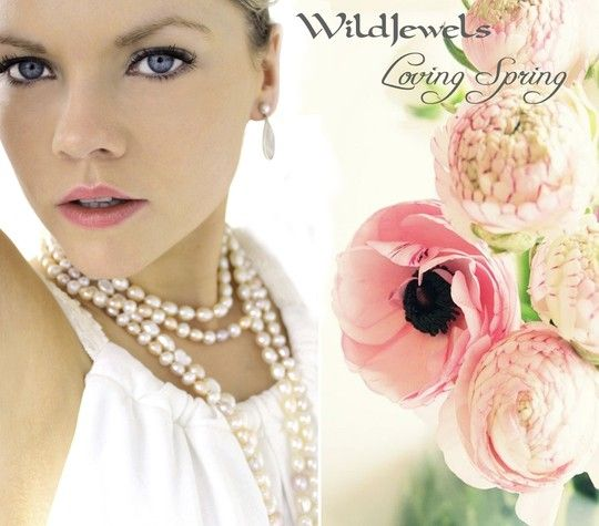 The beauty of Spring ... a change in the seasons. Time to bring out the pearls .... luscious and delicious. The Fire Necklace is a 52 inch freshwater pearl necklace with white, soft pink and soft mauve pearls with a sterling silver toggle. Simply gorgeous!