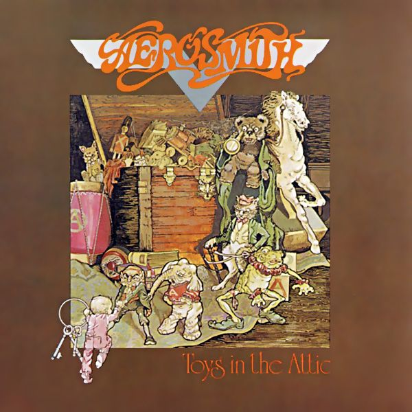 Toys in the Attic by Aerosmith - Classic rock music poster ☮~ღ~*~*✿⊱╮ レ o √ 乇 !!