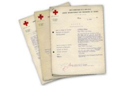 Digitised First World War records from the International Red Cross related to prisoners of war.