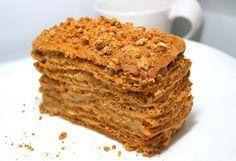 Карамельный диетический торт «МЕДОВИК» с апельсиновым кремом. Без муки и сахара!!! - ПП-торты/-пирожные - Полезные рецепты - Правильное питание или как правильно похудеть