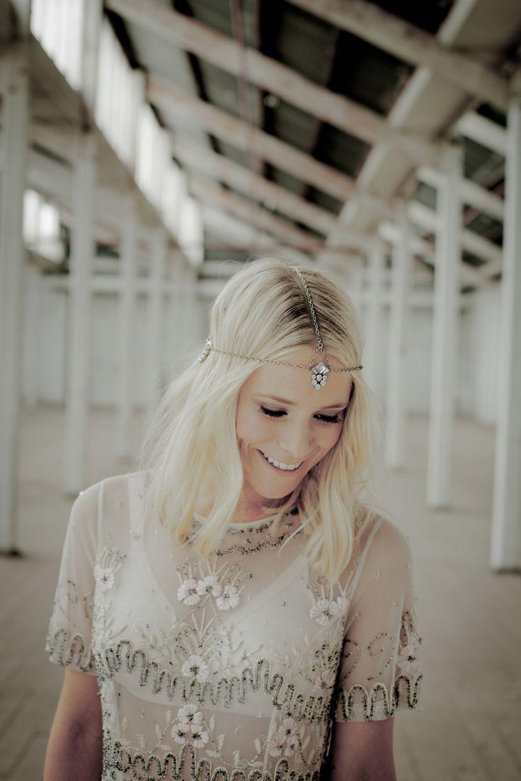 http://wolfandelk.com.au/the-snow-leopard/ #bridalheadpieces #headpieces
