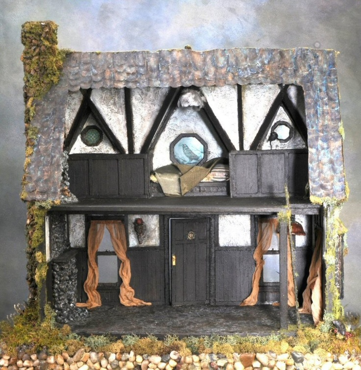 Dollhouse Miniatures Chicago: 60 Best Miniature House Images On Pinterest