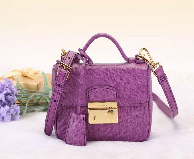 Prada Purple Wallet