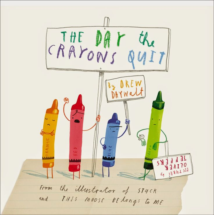 """Storytime idea: Emotions & Feelings using """"The Day the Crayons Quit"""""""
