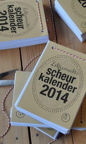 fonkelnieuwe website - foto van scheurkalender 2014