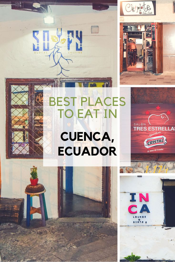 Best places to eat in #Cuenca #Ecuador Wondering where to go next? Dreaming about visiting the amazing and unique #Galapagos Islands a.k.a. Charles Darwin´s lab of evolution and Ecuador?  ORDER HERE - http://bit.ly/2wIcKjq - and make sure to get your copy of the Ebook> Must-See and Eat in Ecuador and Its Galápagos Islands