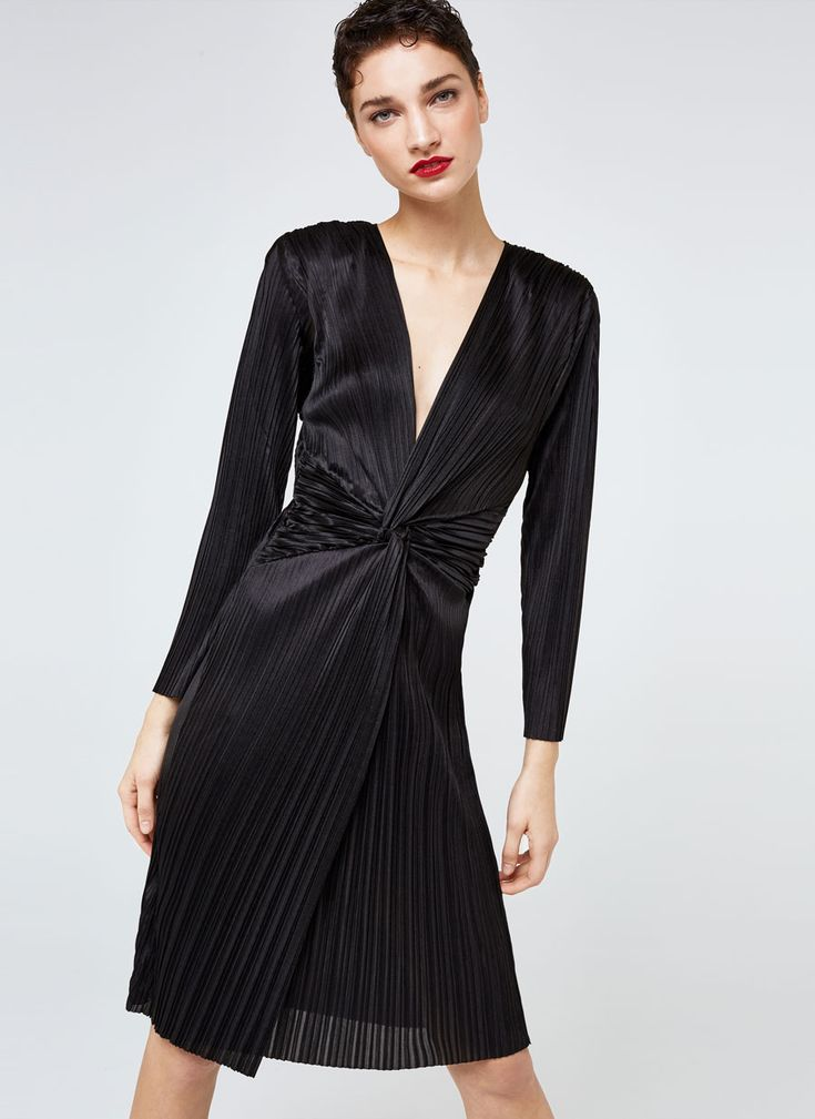Uterqüe United Kingdom Product Page - New in - View all - Pleated dress - 95