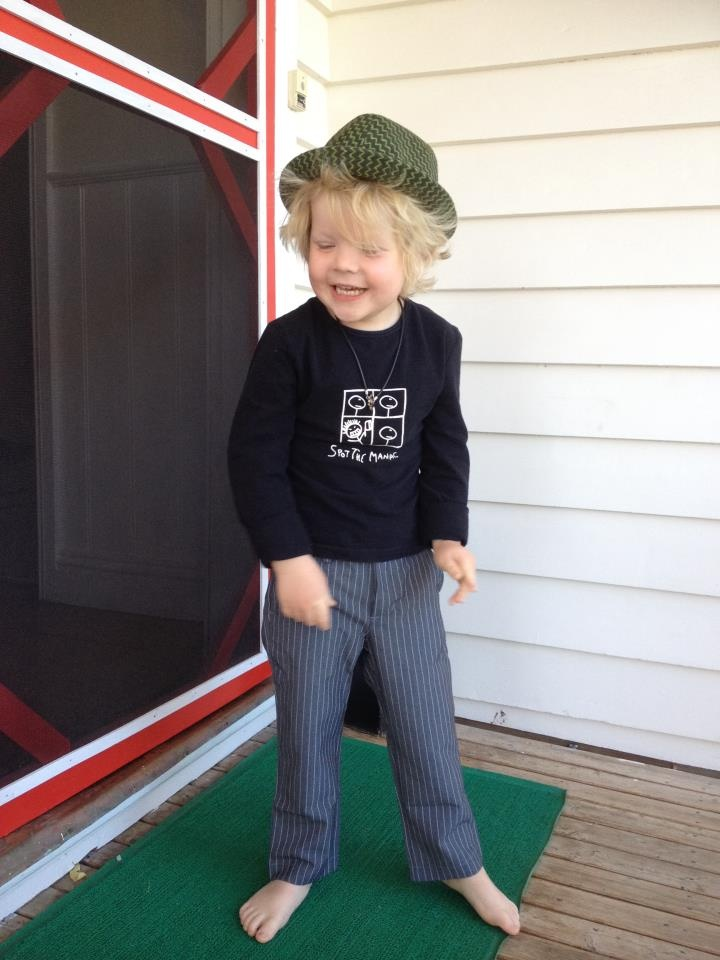 Loving our new Knuckleheads fedoras and pinstriped trousers. Cool. Hat $25  Trousers $ 24.95 @ www.muchlovedkids.com.au