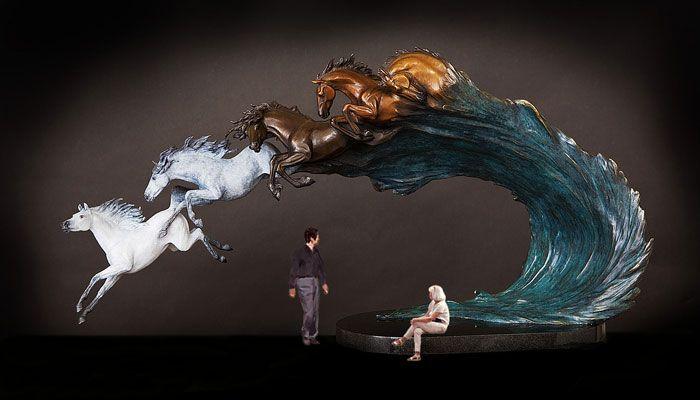 Life-Size Horse Statues | dreams ii life size horse sculpture original bronze...Amazing and beautiful