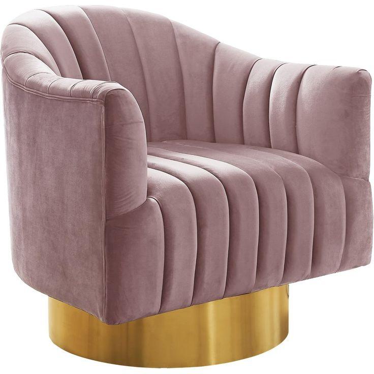 Bekah Swivel Barrel Chair