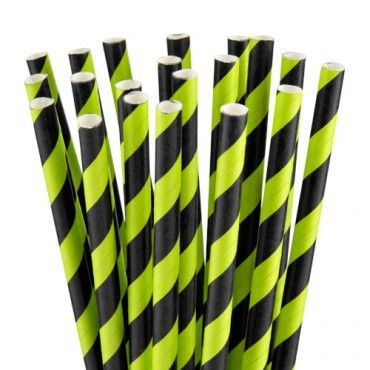 Halloween Party Straws 20 Pack - Halloween Party Decorations - Halloween