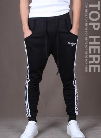 Hip hop fashion jogger harem pants