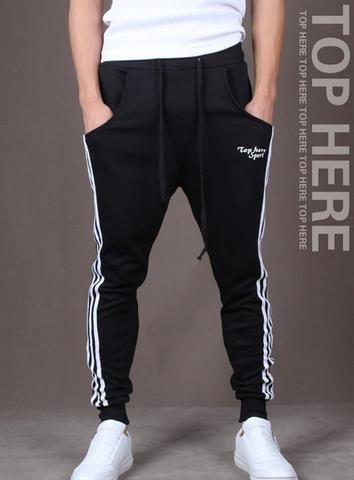 Hip hop fashion jogger harem pants