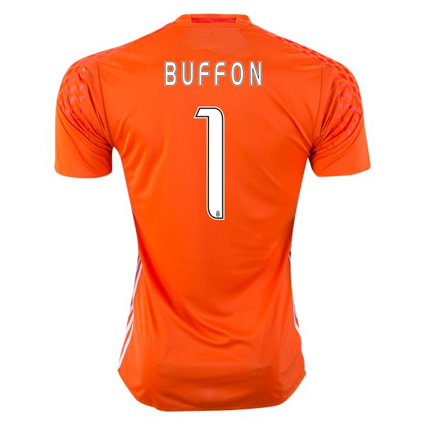 Juventus 16/17 BUFFON Goalkeeper Jersey   Check out the best in soccer goalkeeping equipment and gear at WorldSoccershop.com