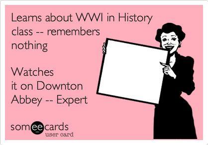 soooooo true!!!! they need to use shows like this to teach history. Im nearly a historian now ;-)