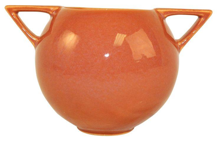 Roseville Pottery Rozane Patterns Bowl 398-4