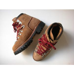 Vintage 1970's Vasque Hiking Boots