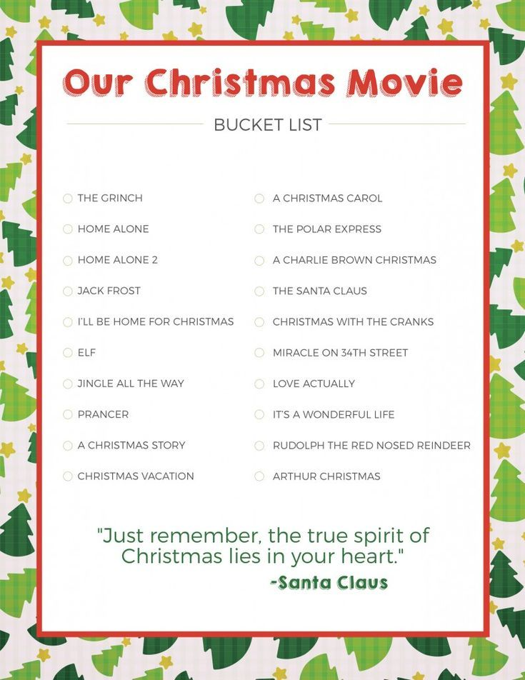 Christmas Movie Bucket List Love And Marriage Christmas With The Kranks Bucket List Movie Christmas Bucket