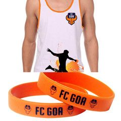 FC Goa- Chill Out Pack Bundle (Vest + Silicon Band) #Goa #TheFanStore #ISL #India #football #sports #Tshirt #gaon #Goa #IndianFootball #Beach #goaBeach #goaFans #WristBands