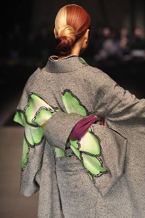 Kimono deisgned by Jotaro Saito, Japan