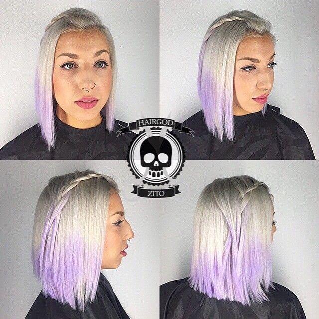 Ʀⅈ€₭ョ¥ ℤⅈϮø @hairgod_zito Silver n lavender...Instagram photo | Websta (Webstagram)