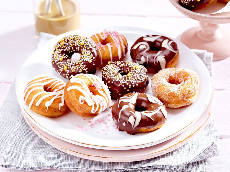 Donuts selber machen - so geht's - donuts-selber-machen  Rezept