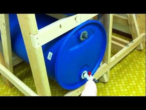 55 Gallon Water Storage Part 2 - Building The Rack - YouTube & 22 best Water storage images on Pinterest | Water storage Emergency ...