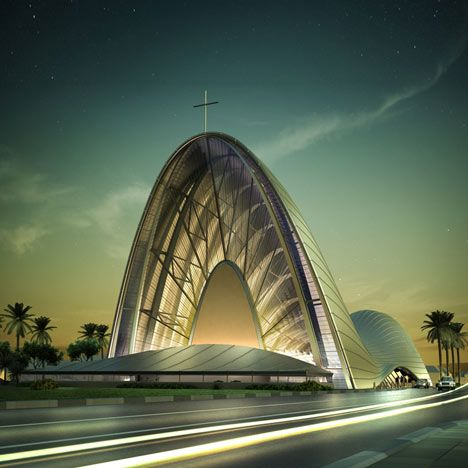 Catholic Church of the Transfiguration by DOS Architects