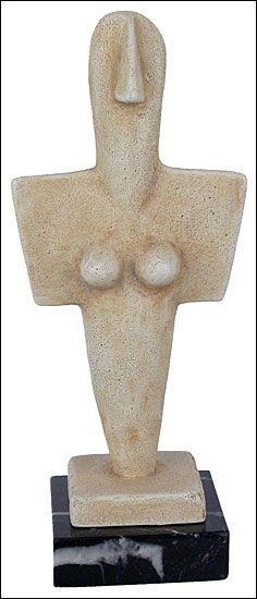 Turriga Mother Goddess 3200 - 2800 BC